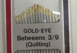 ابرة يد ياباني رقم 300B2  راس ذهبي