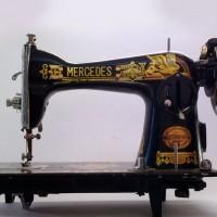 ماكينة خياطة (ابو اسدين) هندي كاملة مع الصندوق
